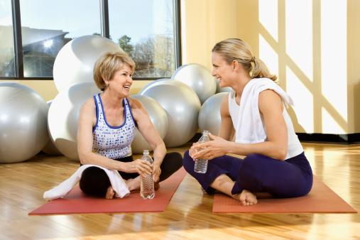 older women exercise