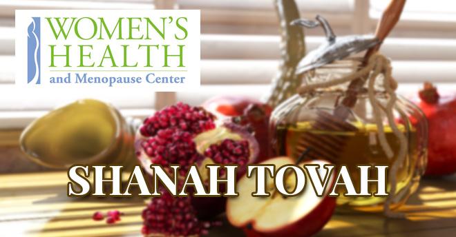 Womens Health and Menopause Center Rosh Hashanah 2107