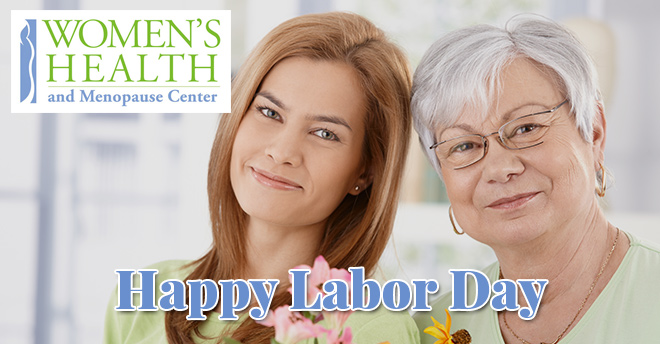 Women's Health and Menopause Center Labor Day 2017
