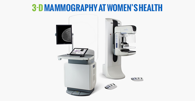 Womens Health 3D Mammography