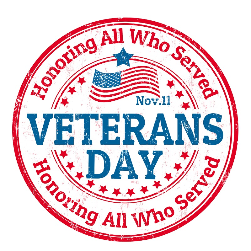 Womens Health and Menopause Center Veterans Day November 11 2019