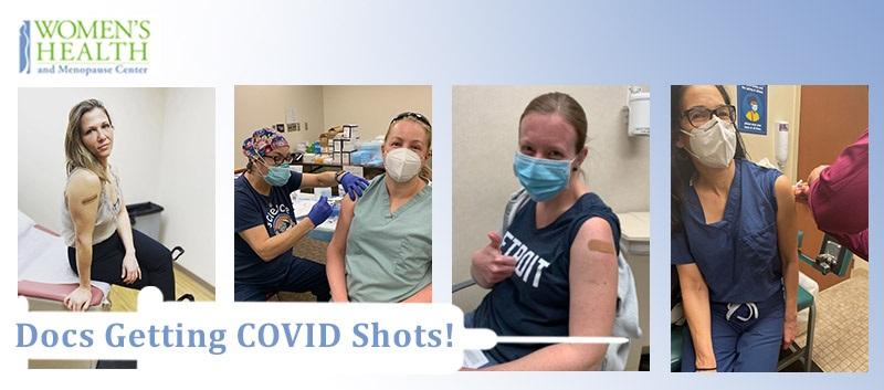 Women's Health Docs Getting COVID-19 Shots